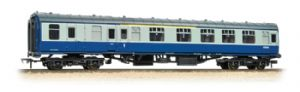 Bachmann 39-225A BR Mk1 BCK, Brake Composite, Blue/Grey